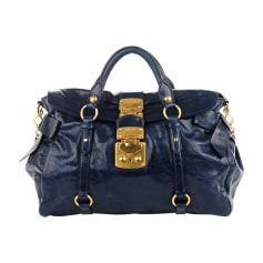Leather Shoulder Bag MIU MIU Blue, navy, turquoise