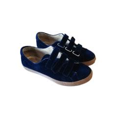 Baskets BALZAC PARIS Bleu, bleu marine, bleu turquoise