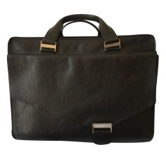 Briefcase, folder LE TANNEUR Black
