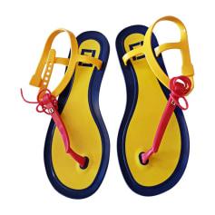 Flat Sandals FENDI Multicolor
