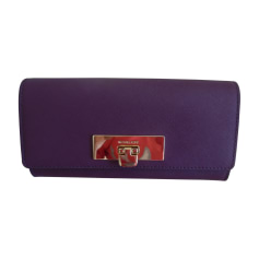 Wallet MICHAEL KORS Purple, mauve, lavender