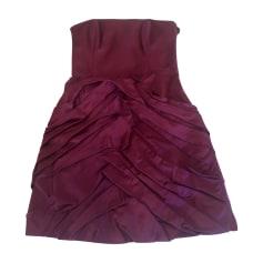 Corset Dress PAULE KA Pink, fuchsia, light pink
