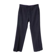 Straight Leg Pants LOUIS VUITTON Blue, navy, turquoise