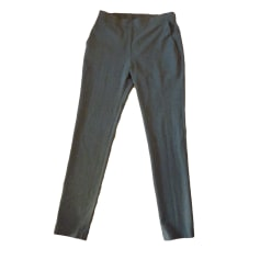 Pantalon slim, cigarette AMERICAN VINTAGE Gris, anthracite
