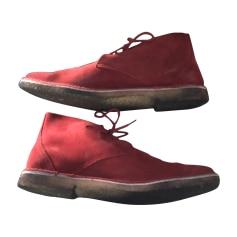 Stiefeletten, Ankle Boots PIERRE HARDY Rot, bordeauxrot