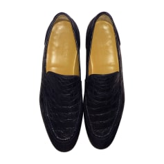 Loafers GUCCI Blue, navy, turquoise