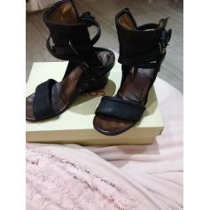 Sandales à talons AIRSTEP Noir