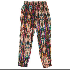 Tapered Pants SANDRO Multicolor