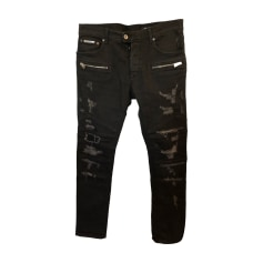 Jeans slim JUST CAVALLI Nero