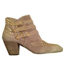 Bottines & low boots à talons ASH taupe