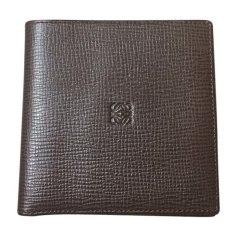 Wallet LOEWE Brown