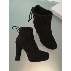 Bottines & low boots à talons LILY SHOES Noir