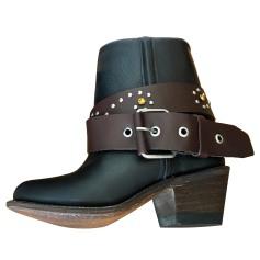 Bottines & low boots à talons APRIL MAY Noir