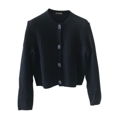 Vest, Cardigan MIU MIU Blue, navy, turquoise