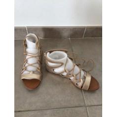 Zara DoréBronzeCuivreArticles Chaussures Femme Tendance j5R3L4Aq