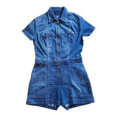 Combishort GUESS Bleu, bleu marine, bleu turquoise