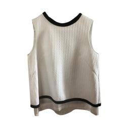 Top, T-shirt COMPTOIR DES COTONNIERS White, off-white, ecru
