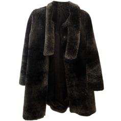 Manteau en fourrure LILI GAUFRETTE Marron