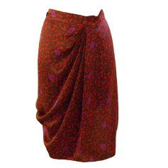 Jupe courte ARMAND VENTILO Rouge, bordeaux