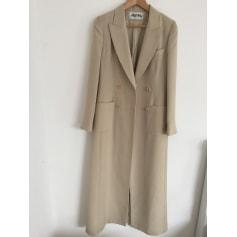 Manteau AGATHA Blanc, blanc cassé, écru
