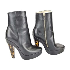 High Heel Ankle Boots STELLA MCCARTNEY Black