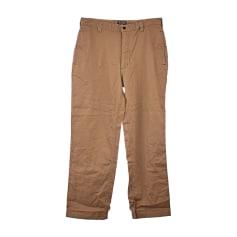 Straight Leg Pants RALPH LAUREN Beige, camel