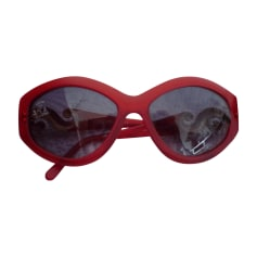 Sunglasses NINA RICCI Red, burgundy