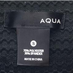 Jupe courte AQUA Noir