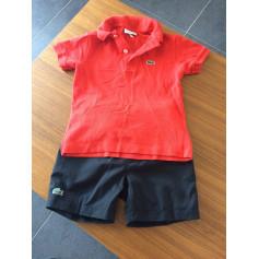Shorts Set, Outfit LACOSTE Black