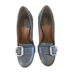 Loafers CHLOÉ Gray, charcoal