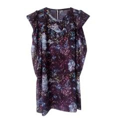 Top, T-shirt IRO Purple, mauve, lavender