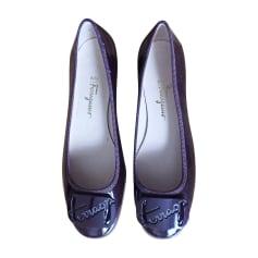 Pumps, Heels SALVATORE FERRAGAMO Purple, mauve, lavender