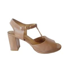 Sandales à talons A.P.C. Rose, fuschia, vieux rose