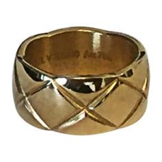 Ring CHANEL Golden, bronze, copper