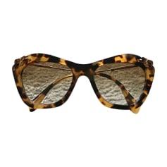 Sunglasses MIU MIU Golden, bronze, copper