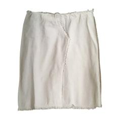 Midi Skirt VANESSA BRUNO White, off-white, ecru