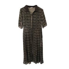 Robe mi-longue ARMAND VENTILO Marron