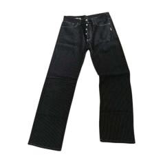 Straight Leg Jeans JEAN PAUL GAULTIER Black