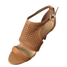 Sandales à talons BANANA REPUBLIC Beige, camel