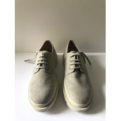 Lace Up Shoes ZARA Khaki