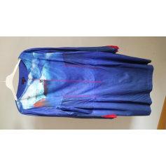 Robe mi-longue AVENTURES DES TOILES Bleu, bleu marine, bleu turquoise
