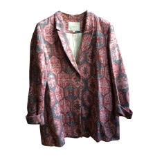 Blazer, veste tailleur MAJE Rose, fuschia, vieux rose