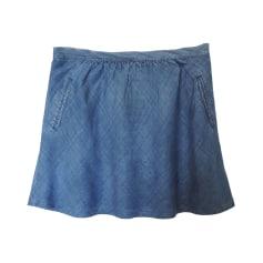 Minirock COMPTOIR DES COTONNIERS Blau, marineblau, türkisblau