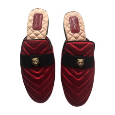 Mocassins GUCCI Rouge, bordeaux
