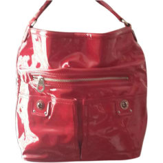 Leather Oversize Bag MARC BY MARC JACOBS Red, burgundy