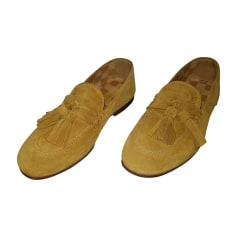 Loafers LOUIS VUITTON Yellow