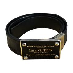 33df710bcf5bc Ceintures Louis Vuitton Homme : articles luxe - Videdressing