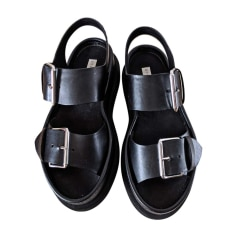 Flat Sandals STELLA MCCARTNEY Black