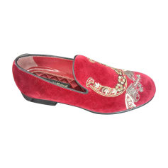 Loafers DOLCE & GABBANA Red, burgundy