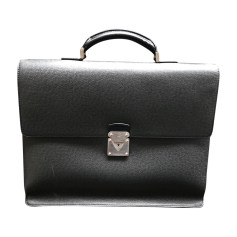 Briefcase LOUIS VUITTON Gray, charcoal